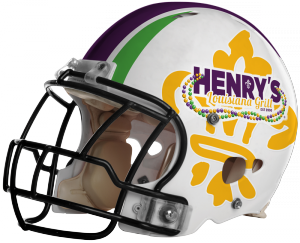 Henry's Football Helmet Tailgate Packages