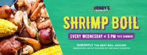 Henry's Famous Shrimp Boils